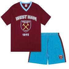 West Ham United FC Official Football Gift Boys Short Pyjamas