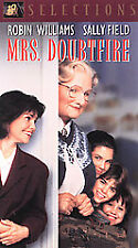 Mrs. Doubtfire (VHS, 2002, Selections)