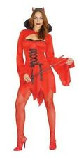 Adult Ladies Devil Lady Costume for Halloween Fancy Dress