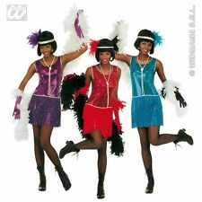 Ladies Womens Deluxe Flapper Costume for 20s Moll Gangster Fancy Dress