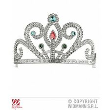 Tiara with Gems Hat for Fairytale Princess Fancy Dress Accessory