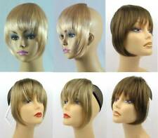 STRAIGHT HAIR CLIP IN BANGS EXTENSIONS HAIRPIECE TOUPEE CLIP ATTACHMENT 1805