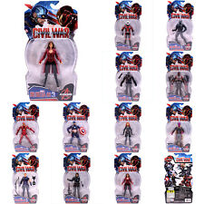11pcs Vision Black Panther Falcon Marvel Universe Avengers  Witch Action Figure