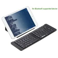 Portable Foldable Wireless Bluetooth 3.0 Keyboard Folding for Phone Tablet B1G5