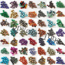 4mm 6mm 8mm 10mm 12mm Wholesale Mixed Natural Gemstone Round Spacer Beads HH1