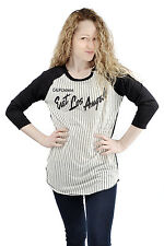 East Los Angeles LA California Baseball Football Athletic Raglan Fashion Tee