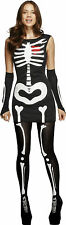 Fever Sexy Skeleton - Glow in the Dark Ladies Halloween Fancy Dress Costume