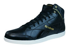 Reebok Classic Fabulista Mid Womens Leather Trainers / Shoes - Black - M41894