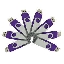 8PCS Folding 1GB-16GB USB Flash Drive Real Capacity Flash Memory Stick Pen Drive