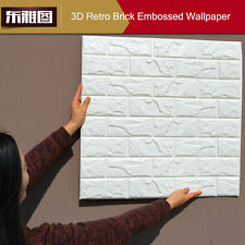 LOT 3D Wallpaper Bedroom Mural Roll Modern Stone Brick Wall Background Art