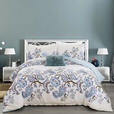Quilt Doona Duvet Cover Set Queen/King Size Bed Covers Pillowcase New 100%Cotton