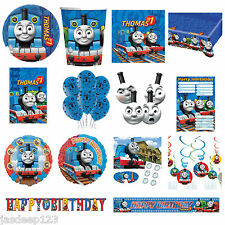 Thomas The Tank Engine And Friends Childrens Boys Birthday Party Tableware Kids
