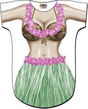 Hawaii HULA GIRL Sexy Swimsuit Bikini Cover Up T-Shirt