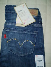 Levis Ultra Low Rise Stretch Flare Leg Juniors Jeans Size 0 x 32, 3 x 33 New