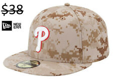 Philadelphia Phillies New Era 59Fifty Fitted Camo Camouflage Baseball Hat Cap