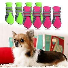 Pet Dog Puppy Boots Water Repellent Anti-Slip Protective Boots Shoes 4 Size