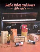 Radio Tubes & Boxes of the 1920's Book Vintage Vacuum
