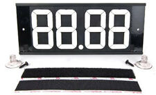 JEGS Performance Products 55058 Velcro Dial-In Board 4-Digits White Numbers