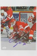 Red Wings Chris Osgood Signed Authentic 9X11 Magazine Photo JSA #G16360