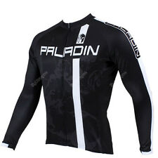 Men Long Sleeve Cycling Jersey Bicycle Bike Rider Sportwear Apparel CX12