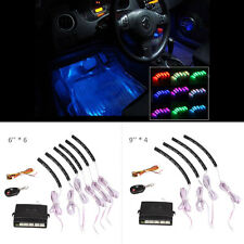 Car 7 Color Interior Neon 72 LED Light Strips Lamp with Control Box + key Remote