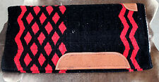 Wool Western Show Horse Trail SADDLE PAD Rodeo Blanket Tack  3843