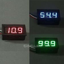 0.56inch LCD DC 0-100V Panel Meter Digital Voltmeter with Three-wire  E0Xc