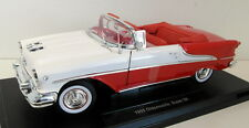Welly 1/18 Scale Diecast 19869w 1955 Oldsmobile Super 88 open red white