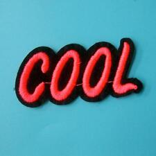 Cute Sound Feeling Iron on Sew on Embroidered Badge Patch Cowboy Rock Biker Punk
