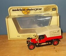 Matchbox Yesteryear Y13 Crossley Aspects & Images Code 2 Model