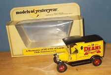 Matchbox Yesteryear Y12 Model T Ford Van Deans For Toys Code 2 Model