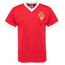 Manchester United FC Official Gift Mens 1958 FA Cup Final Retro Kit Shirt