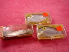 STORM THIN FIN OLD VINTAGE FISHING LURE BAIT MIX LOT OF 3 TACKLE box PRE RAPALA