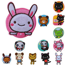 1pcs Animal Cartoon Kid Iron On Patch Sew Applique Craft Embroidered Lovely DSUK
