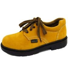 MENS LEATHER LACE-UP TAN ANKLE WORK HIKING CASUAL WALKING SHOES SIZES 6-10