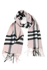 Burberry Scarf Scarves % Cashmere Man Pinks 3994133-