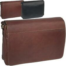 TONY PEROTTI Unisex Messenger Bag, Crossover Bag, Leather, Leather Bag