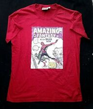 NEW Mens Marvel Comic Book Spiderman Amazing Fantasy Red T Shirt Various Sizes