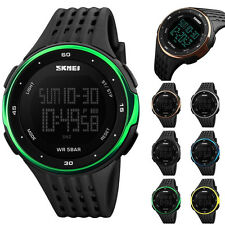 New SKMEI Watches Sport Quartz Wrist Men Mens Analog Digital Waterproof Military