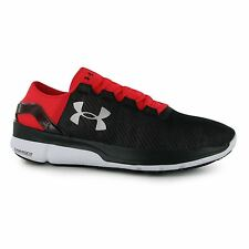 Under Armour SpeedForm Turbulence Running Shoes Mens Red Trainers Sneakers