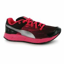 Puma Sequence Trainers Womens Silver Gym Fitness Workout Run Trainers Sneakers