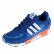 Adidas Originals ZX 850 Trainers Mens Royal/White/Orange Sneakers Shoes
