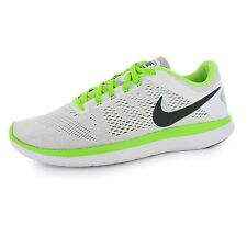 Nike Flex 2016 Run Running Shoes Mens White/Black Fitness Trainers Sneakers