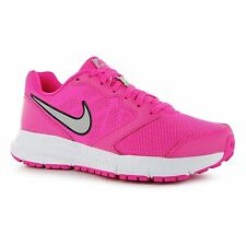 Nike Downshifter 6 Running Shoes Womens Pink/Silver Fitness Trainers Sneakers