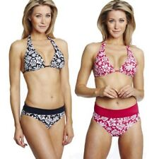 Speedo Ladies Halter Neck Bikini Speedobeach Cup Triangle