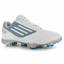 Adidas adizero One WD Golf Shoes Mens White Golfing Footwear Shoe