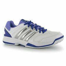 Adidas Response Aspire Womens Tennis Shoes Trainers White/Purple Court Sneakers