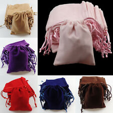 Velvet Drawstring Jewelry Gift Bags Pouches Wedding Pouches 6 Color SHX116