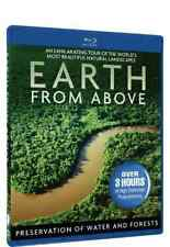 BERTRAND,YANN ARTHU-EARTH FROM ABOVE: PRESERVATION OF WATER & FOREST Blu-Ray NEW