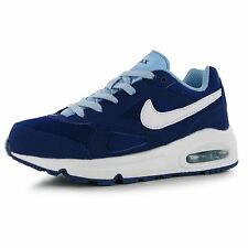 Nike Air Max Ivo Trainers Junior Girls Royal/White Sports Shoes Sneakers